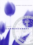 2001 Graduate Commencement Program by Columbia College Chicago