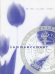 2001 Undergraduate Commencement Program by Columbia College Chicago