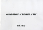 2017 Commencement Program by Columbia College Chicago