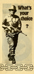 What's Your Choice? by End Conscription Campaign