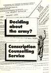 Deciding about the army? Conscription Counselling Service