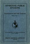 Examination and Self Analysis Book No. 01