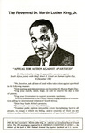 Appeal for Action Against Apartheid by Martin Luther King Jr.
