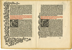 Leaf, side 1: The History of Godefrey of Bologne and of the Conquest of Iherusalem, 1893 by William Morris
