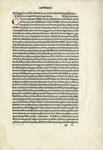 "Leaf, side 1: ""The Scriptores Astronomici Veteres"", 1499 by Aldus Manutius"