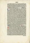 "Leaf, side 2: ""The Scriptores Astronomici Veteres"", 1499 by Aldus Manutius"