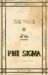 The Voice of the Phi Sigma -- 1879 -- Volume 02, No. 03 by Phi Sigma