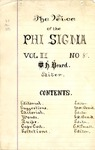 The Voice of the Phi Sigma -- 1880 -- Volume 02, No. 08
