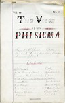 The Voice of the Phi Sigma -- 1882 -- Volume 04, No. 06