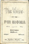 The Voice of the Phi Sigma -- 1883 -- Volume 05, No. 04
