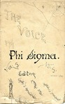 The Voice of the Phi Sigma  -- 1883 -- Volume 05, No. 05