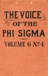 The Voice of the Phi Sigma -- 1884 -- Volume 06, No. 04
