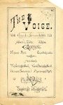 The Voice of the Phi Sigma -- 1884 -- Volume 06, No. 05