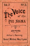 The Voice of the Phi Sigma -- 1885 -- Volume 07, No. 03