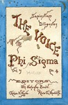 The Voice of the Phi Sigma -- 1885 -- Volume 07, No. 04
