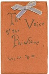 The Voice of the Phi Sigma -- 1887 -- Vol. 09, No. 03
