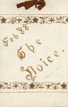 The Voice of the Phi Sigma -- 1888 -- Vol. 10, No. 01