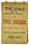 The Voice of the Phi Sigma -- 1915 --