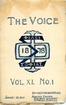 The Voice of the Phi Sigma -- 1919 -- Vol. 40, No. 01