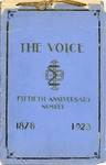 The Voice of the Phi Sigma -- 1928 -- Fiftieth Anniversary Number