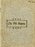 1901-1902 Annual Program by Phi Sigma