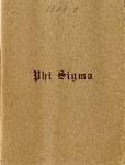 1908-1909 Annual Program