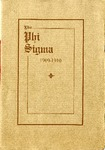 1909-1910 Annual Program by Phi Sigma
