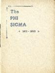 1911-1912 Annual Program