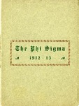 1912-1913 Annual Program by Phi Sigma