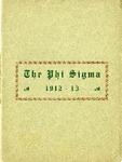 1912-1913 Annual Program