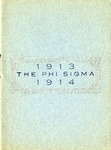 1913-1914 Annual Program by Phi Sigma