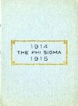 1914-1915 Annual Program