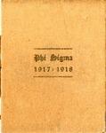 1917-1918 Annual Program