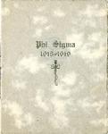 1918-1919 Annual Program