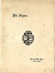 1922-1923 Annual Program