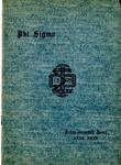 1934-1935 Annual Program