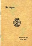 1942-1943 Annual Program