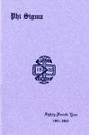 1961-1962 Annual Program
