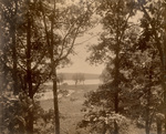 Phi Sigma Camping Club View of Twin Lakes, Wisconsin by Phi Sigma and May Fisk Fitch