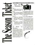 The Season Ticket, October 1996 by Columbia College Chicago