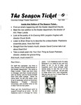 The Season Ticket, Fall 1998 by Columbia College Chicago