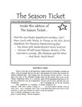 The Season Ticket, Spring 2000 by Columbia College Chicago