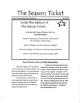 The Season Ticket, Spring 2002 by Columbia College Chicago