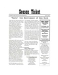 The Season Ticket, Spring 2005 by Columbia College Chicago