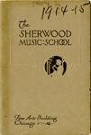 Sherwood Music School Annual Catalog 1914-1915