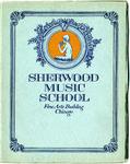 Sherwood Music School Annual Catalog 1920-1921