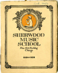 Sherwood Music School Annual Catalog 1924-1925