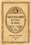 Sherwood Music School Annual Catalog 1925-1926