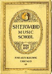 Sherwood Music School Annual Catalog 1926-1927