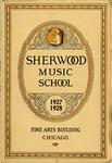 Sherwood Music School Annual Catalog 1927-1928